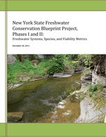 New York State Freshwater Conservation Blueprint Project report cover.